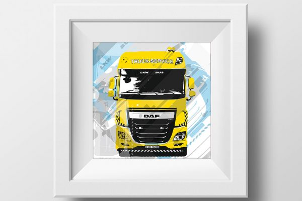 Artwork Design LKW