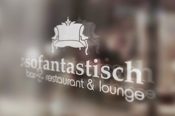 Logodesign Sofantastisch Bar